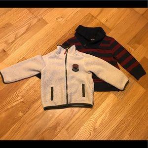 18 Month Fleece and Sweatshirt